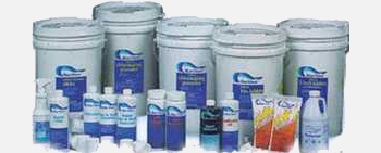 full line of pool supplies